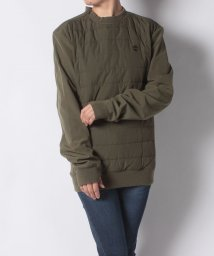 Timberland/【WOMENS】Padded pullover polyfill Olive/502534704