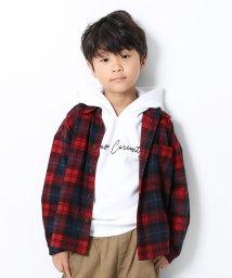 devirock/ビッグシルエットネルチェックシャツ/502554681