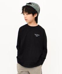 RAT EFFECT/シンプルロゴビッグロングTシャツ/502555078