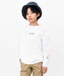 RAT EFFECT/リフレクター袖ラインロングTシャツ/502555079