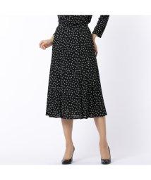 Liliane Burty/ハートプリント セミフレアースカート【セットアップ対応】/502555856