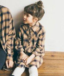 anyFAM(KIDS)/【110-130cm】OYAKO-DE タータンチェック ワンピース/502558873