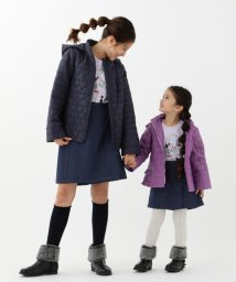 KUMIKYOKU KIDS/【110~140cm】ハートキルト中綿コート/502558877