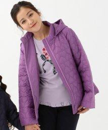 KUMIKYOKU KIDS/【150~170cm】ハートキルト中綿コート/502558878