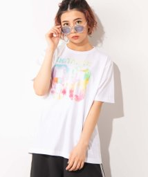 WEGO/WEGO/ホワイトバラエティプリントTシャツ/502485804