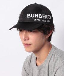 BURBERRY/【BURBERRY】ロゴキャップ/Lサイズ【BLACK】/502528634