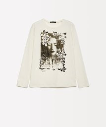 SISLEY YOUNG/ガーリープリントTシャツ・カットソー/502549677