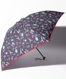 Afternoon Tea LIVING/パリ柄晴雨兼用軽量折りたたみ傘 雨傘/502550401
