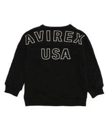 AVIREX/【キッズ】ビッグロゴ クルーネックスウェット/KIDS BIG LOGO CREW NECK SWEAT/502558937