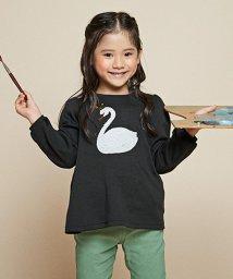 anyFAM(KIDS)/【100-130cm】ミラクルスパンコール スムース Tシャツ/502560593