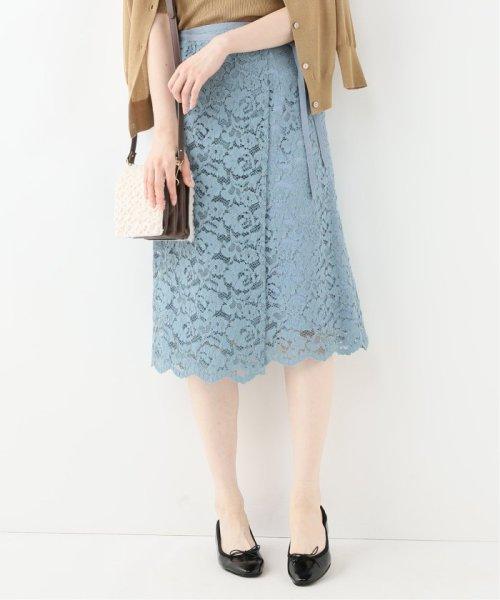 La TOTALITE(ラ トータリテ)/レースラップ風スカート/19060140592030