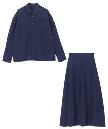 ur's/リネンライクシャツ×スカートセットアップ/501528289