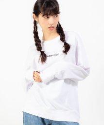 WEGO/WEGO/コンバース別注ロゴ刺繍プルオーバースウェット/502388391