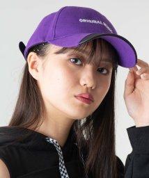 WEGO/WEGO/フェイクレザー切替ロゴキャップ/502458815