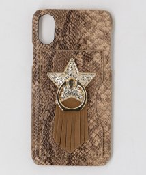 THE STATION STORE UNITED ARROWS LTD./<accommode>スター iPhone X/XS ケース/502528571