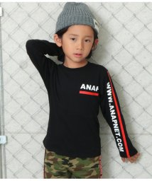 ANAP KIDS/ロゴラインプリントロンTee/502530271
