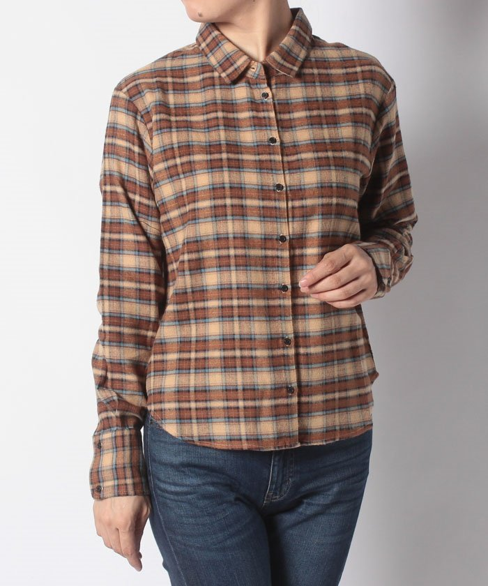 【ITEMS】ネルチェックシャツ