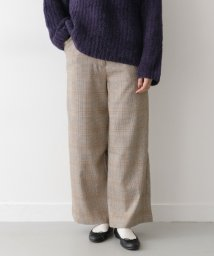 URBAN RESEARCH OUTLET/【ITEMS】ハイウエストチェックワイドパンツ/502542203