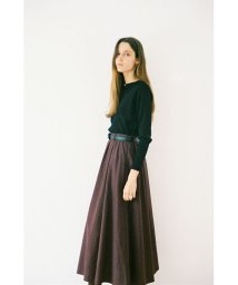 CLANE/CHECK FLAIR MAXI SKIRT/502549145