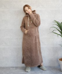 felt maglietta/無地モコボアマキシワンピース/502560987
