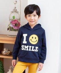 SMILEY FACE/全5柄スマイリーフェイス裏毛パーカー/502562338