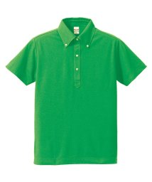 SantaReet/5.3oz吸汗速乾ボタンダウンドライ鹿の子ポロシャツ(CA-UA5052)/502562554