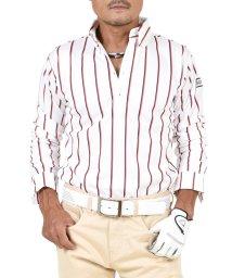 SantaReet/【COMON GOLF】吸収速乾素材ストライプ柄長袖ドライゴルフポロシャツ(CG-LP819N)/502562702