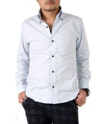 SantaReet/日本製ブロードデュエボタンダウンシャツ(GW-A8629)/502562726