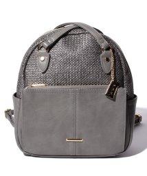 a.v.v(bag)/a.v.v/アー・ウ゛ェ・ウ゛ェ 雑材風コンビ2WAYリュック/502563500
