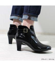 ALETTA/究極のレインブーティ 防水レインブーツ 6.5cm太ヒール 雨天兼用   外反ぎみ・甲高幅広さんも履きやすい 痛くなりにくい 日本人向け足型靴 レディース靴 ブ/502564201
