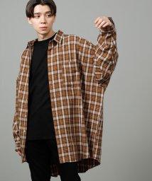JUNRed/ネオビッグチェックシャツ/502565765
