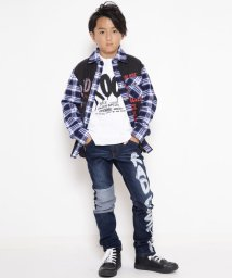 RAD CUSTOM/リメイク風フトバンテチェックシャツ/502487806