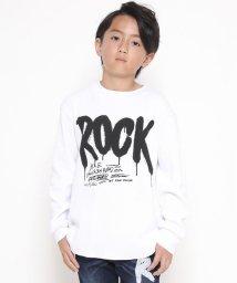 RAD CUSTOM/ロックプリントワッフルTシャツ/502487817