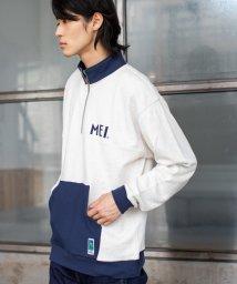 coen/【WEB限定】MEI(メイ)別注ハーフジップスウェット/502559501