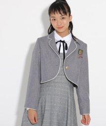PINK-latte/【卒服】パイピンクボレロジャケット/502567427