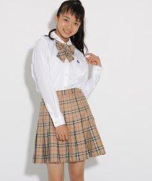 PINK-latte/【卒服】リボンタイ付 チェックプリーツスカート/502567532