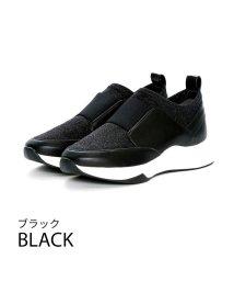 Vivian/ストレッチ素材ゴムスリッポンスニーカー/502568432