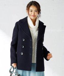 KUMIKYOKU(LARGE SIZE)/メルトンリバー Pコート/502569497