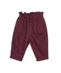 Seraph /タック裾リボンパンツ 9分丈/502380781