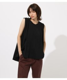 AZUL by moussy/Asymmetry drape cut tops/502420434