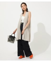AZUL by moussy/ICE CLEAN LONG VEST/502443144