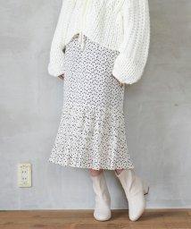 MAJESTIC LEGON/アソート柄裾プリーツスカート/502459538