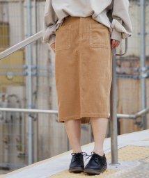 179/WG/【新色追加】コーデュロイタイトスカート/502517382
