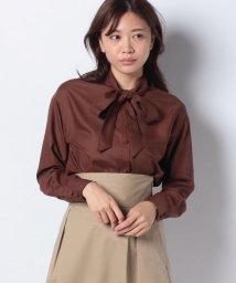 Mint Glam/【雑誌掲載】リボンカラー ブラウス/502520657