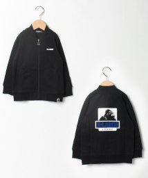 XLARGE KIDS/天竺 ロゴ入りスタンドカラーブルゾン/502549191