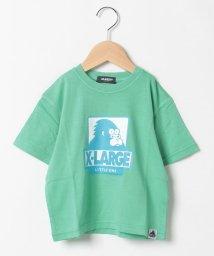 XLARGE KIDS/ロゴプリントTシャツ/502549192