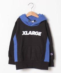 XLARGE KIDS/【Championコラボ】 裏毛 ロゴパーカー/502549193