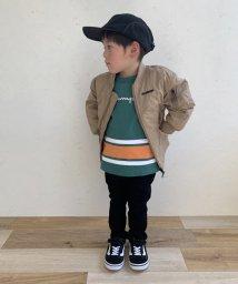 XLARGE KIDS/【Championコラボ】 切替Tシャツ/502549194
