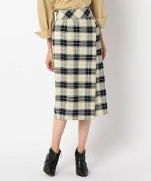 NOLLEY'S/チェックタイトスカート/502552110