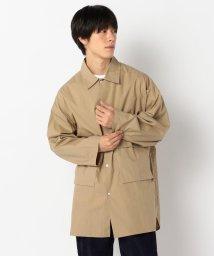 GLOSTER/【WEB限定】オーバーシャツコート ビッグシルエット/502552159